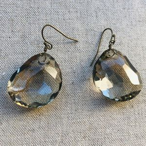 Banana Republic Crystal dangle earrings
